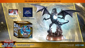 Yu-Gi-Oh! – Blue-Eyes White Dragon (Exclusive Silver Edition)