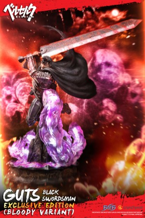 Guts: Black Swordsman (Exclusive Bloody Variant)