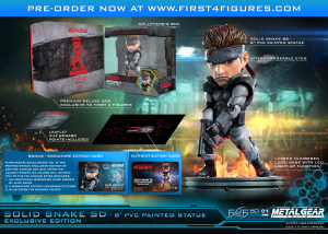 Solid Snake SD Exclusive Edition