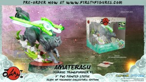 Okami – Amaterasu PVC: Karmic Transformer 8 (Blade of Kusanagi Collector's Edition)