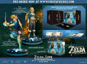 The Legend of Zelda™: Breath of the Wild – Zelda & Link (Master Edition)