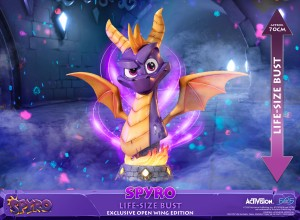 Spyro™ the Dragon – Spyro™ Life-Size Bust (Exclusive Open Wing Edition)