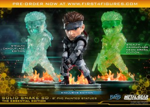 Solid Snake SD The Essential Edition