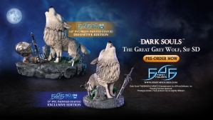 Dark Souls™ – The Great Grey Wolf, Sif SD PVC Statue Launch