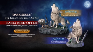 Dark Souls™ – The Great Grey Wolf, Sif SD PVC Statue Pre-Order FAQs