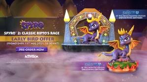 Spyro™ 2: Classic Ripto's Rage PVC and Artisans Green Crystal Dragon Mini Metal Statue Pre-Order FAQs