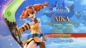 Skies of Arcadia – Aika Statue Giveaway