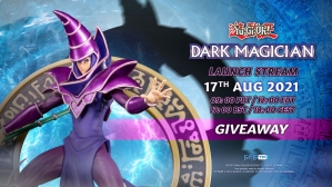 Yu-Gi-Oh! – Dark Magician PVC Statue Giveaway