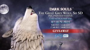 Dark Souls™ – The Great Grey Wolf, Sif SD PVC Statue Giveaway
