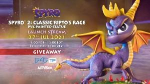 Spyro™ 2: Classic Ripto's Rage PVC Statue Giveaway