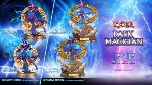 Yu-Gi-Oh! – Dark Magician PVC Statue Launch