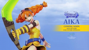 A First Look at the Skies of Arcadia – Aika Statue