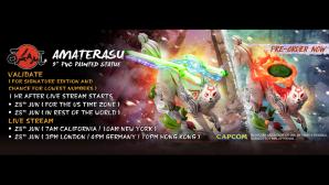 Amaterasu 9″ PVC Pre-Order FAQs