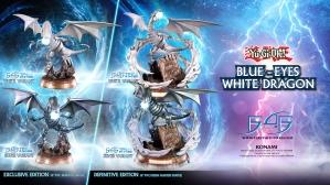 Yu-Gi-Oh! – Blue-Eyes White Dragon PVC Statue Launch