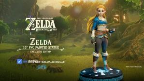 The Legend of Zelda: Breath of the Wild – Zelda Statue Launch