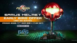 Metroid Prime™: Samus Helmet Statue Pre-Order FAQs