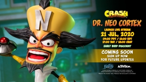 A First Look at the Crash Bandicoot™ – Dr. Neo Cortex Statue