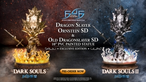 Dark Souls™ & Dark Souls™ II  – Dragon Slayer Ornstein SD & Old Dragonslayer SD Statue Launch