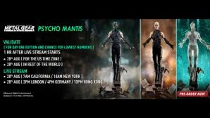 Psycho Mantis Pre-Order FAQs