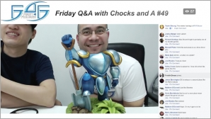 Recap: Friday Q&A with Chocks and A #49 (December 15, 2017)
