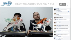 Recap: Friday Q&A with Chocks and A #68 (April 27, 2018)