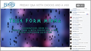 Recap: Friday Q&A with Chocks and A #69 (May 4, 2018)