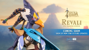The Legend of Zelda™: Breath of the Wild – Revali PVC Statue Coming Soon