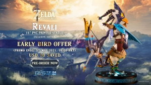 The Legend of Zelda™: Breath of the Wild – Revali PVC Statue Pre-Order FAQs