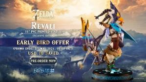 The Legend of Zelda™: Breath of the Wild – Revali PVC Statue Pre-Order FAQs