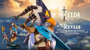 The Legend of Zelda™: Breath of the Wild – Revali PVC Statue Launch