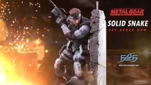 Solid Snake Relaunch & Giveaway