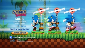 Sonic PVC Statue Launch & Giveaway