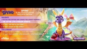 Spyro™ 8″ PVC Pre-Order FAQs