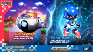 Sonic The Hedgehog Boom8 Series – Combo Pack 4 Launch