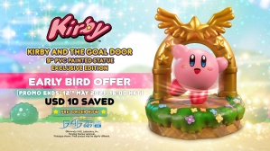 Kirby™ – Kirby and the Goal Door PVC Statue Pre-Order FAQs