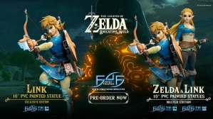 The Legend of Zelda™: Breath of the Wild  – Link (Exclusive Edition) Statue Launch