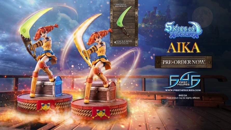 Skies of Arcadia – Aika Statue Launch