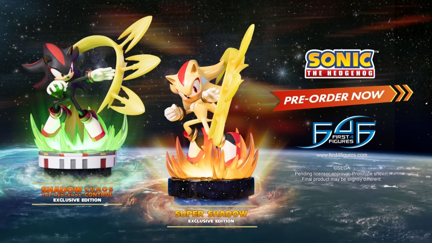 Sonic The Hedgehog – Super Shadow Statue Launch