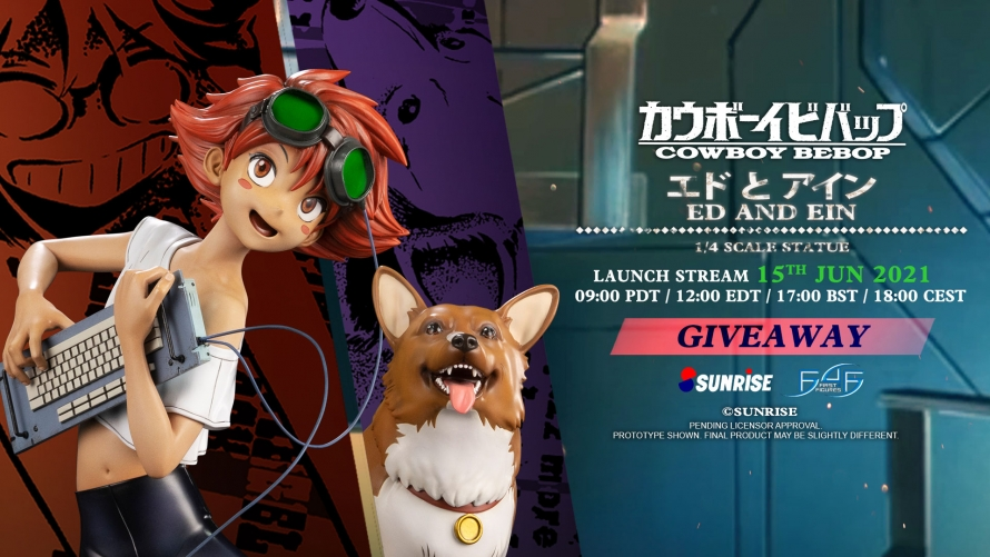 Cowboy Bebop – Ed and Ein Statue Giveaway