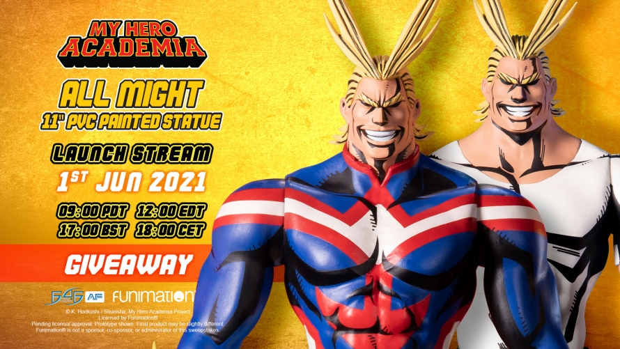 My Hero Academia – All Might: Golden Age and All Might: Casual Wear PVC Action Figures Giveaway