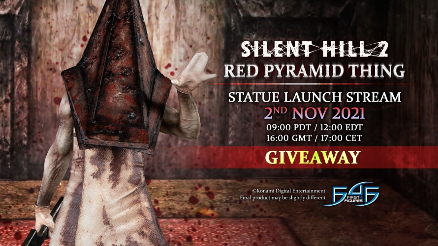 Silent Hill 2 – Red Pyramid Thing Statue Giveaway