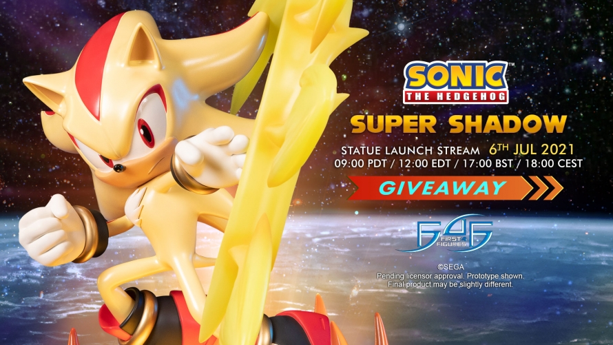 Sonic The Hedgehog – Super Shadow Statue Giveaway