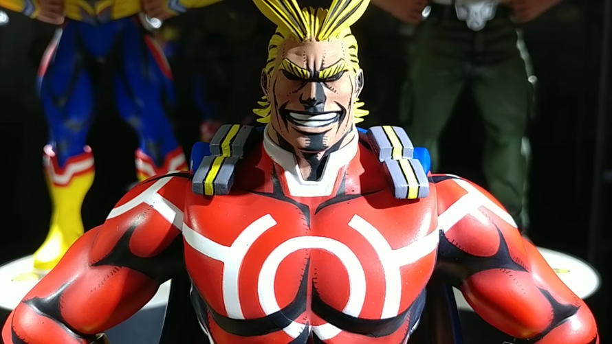 FIRST LOOK: All Might Action Figure