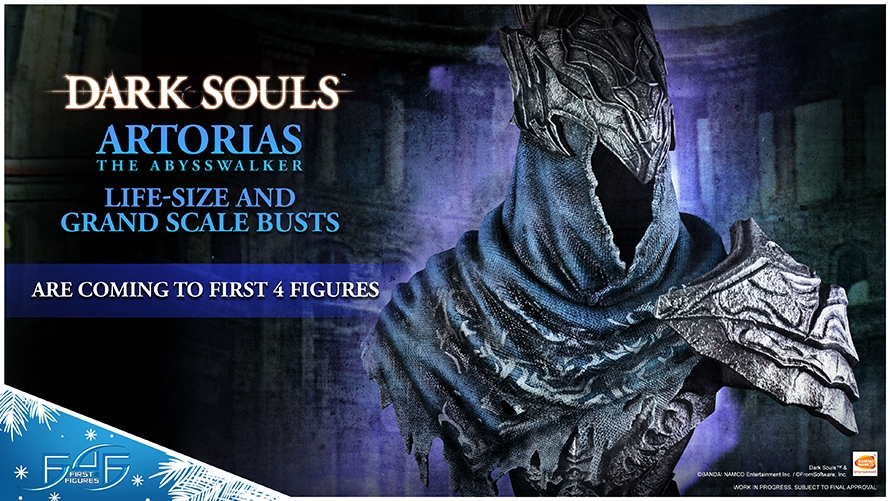 Dark Souls – Artorias the Abysswalker Bust Reveal