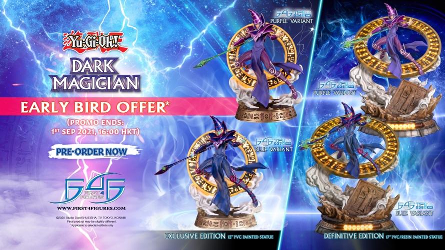 Yu-Gi-Oh! – Dark Magician PVC Statue Pre-Order FAQs