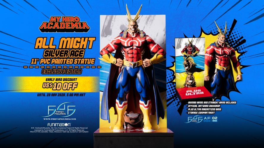 My Hero Academia – All Might: Silver Age PVC Action Figure Pre-Order FAQs