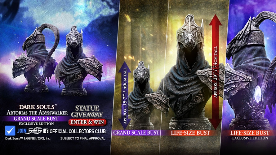 Artorias the Abysswalker Bust Launch & Giveaway