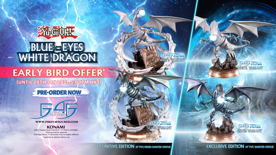 Yu-Gi-Oh! – Blue-Eyes White Dragon PVC Statue Pre-Order FAQs