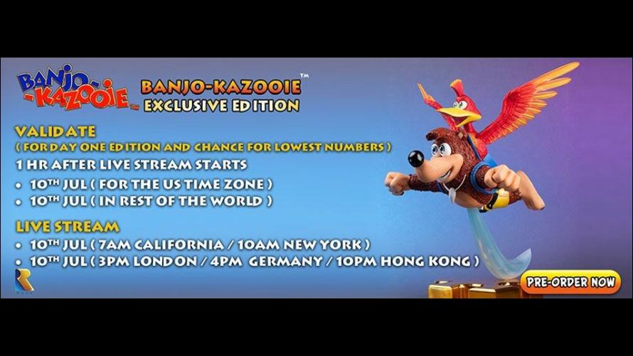 Banjo-Kazooie Pre-Order FAQs