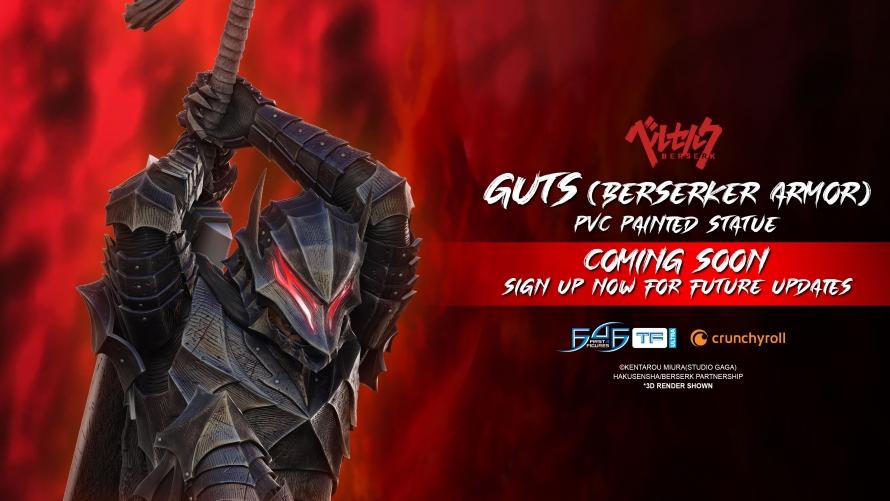 Berserk – Guts (Berserker Armor) PVC Statue Coming Soon